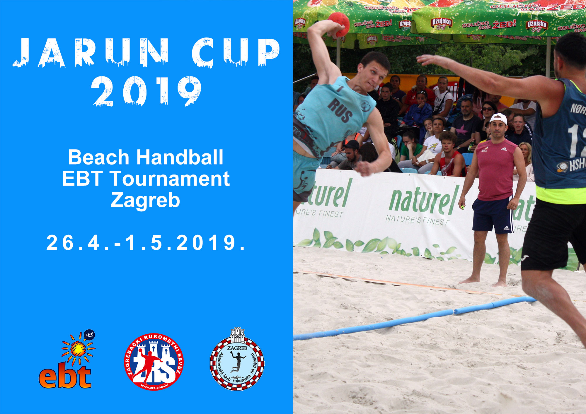 2019 Jarun cup invitation cover
